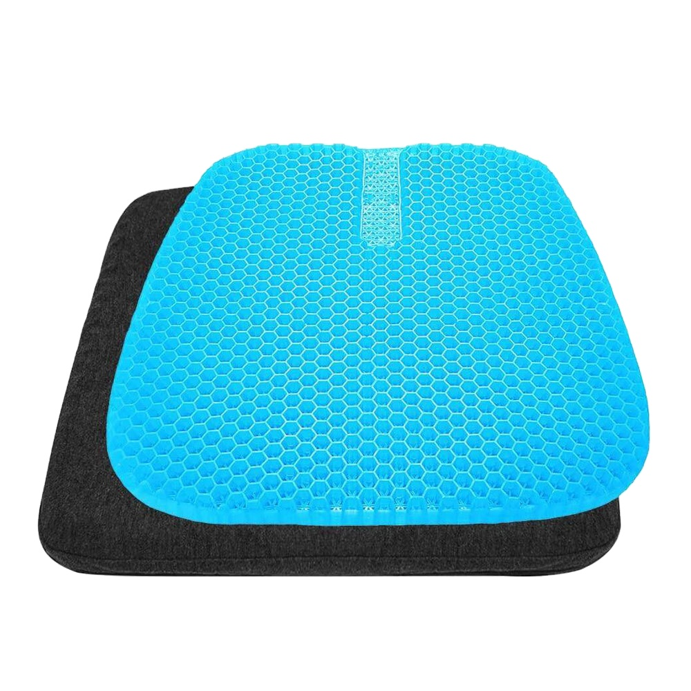 Hot Sale Breathable Cooling Gel silicone flex car Seat Cushion mat