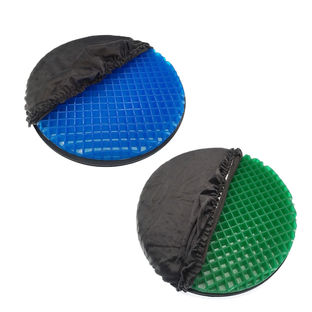 2020 New Comfy Rotation Tpe Silicone 360 Swivel outdoor cooling cars massage Seat Cushion mat manufacturers for Wheelchair